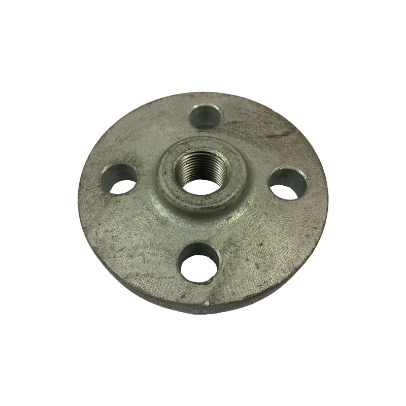 np16/4 Galvanised Screw Flange Drilled