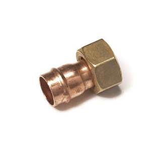 Straight Tap Connector Solder Ring Fitting Co62
