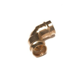90 Degree Elbow Solder Ring Fitting  Co12