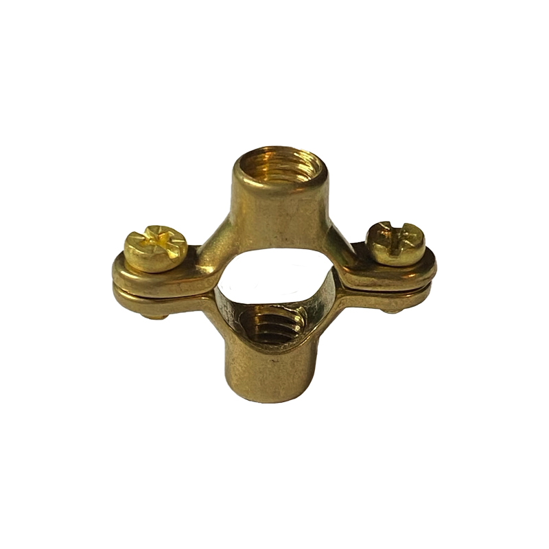 Brass Double Pipe Rings - Metric