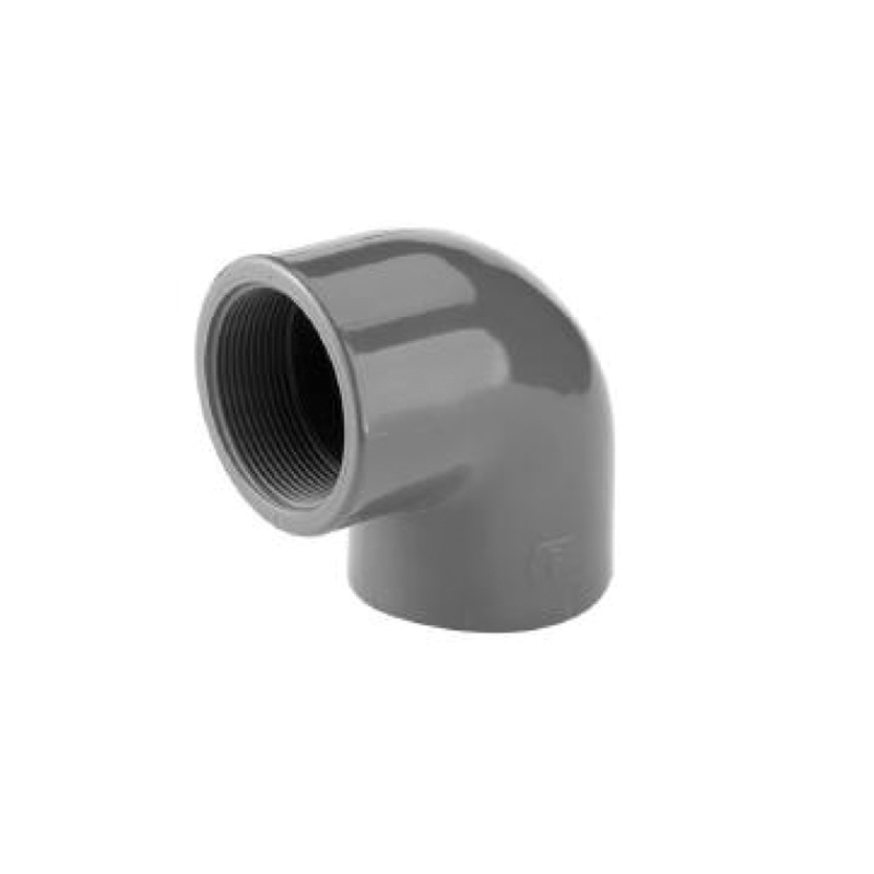 Pvcu 90 Degree Adaptor Elbow plain/threaded