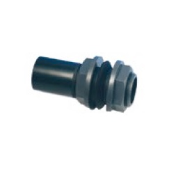 Abs Tank Connector bs/bsp plain/threaded