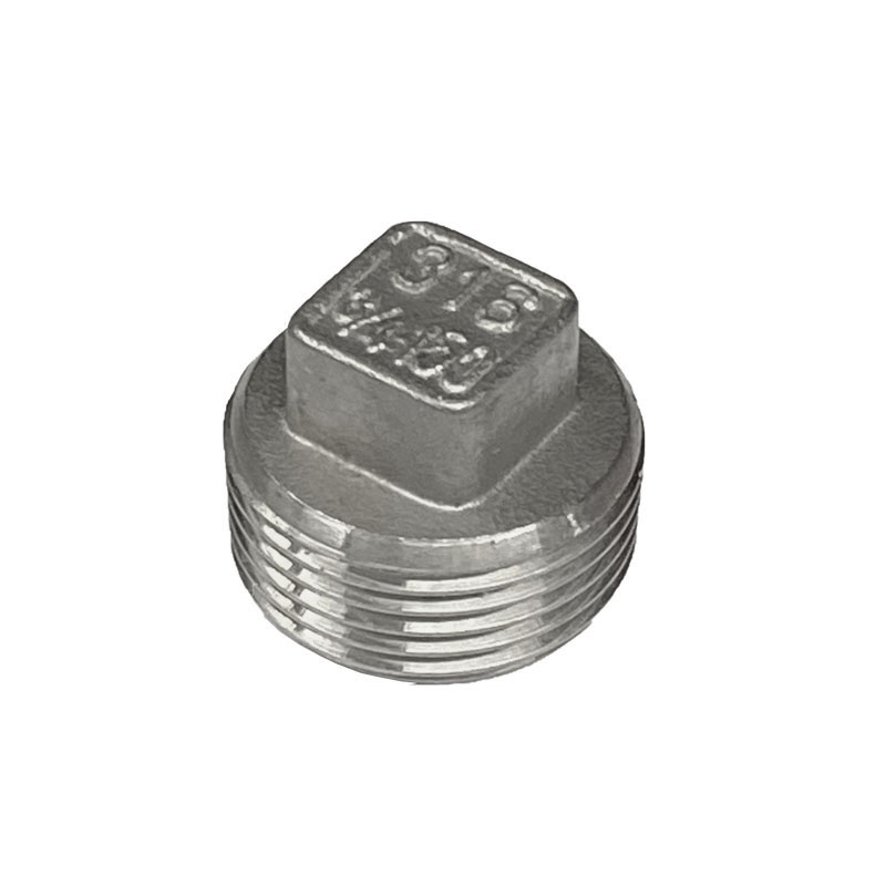 Stainless Steel Plug - Square Head