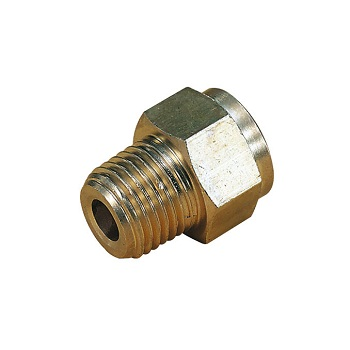 Enots Brass Straight Male Adaptor