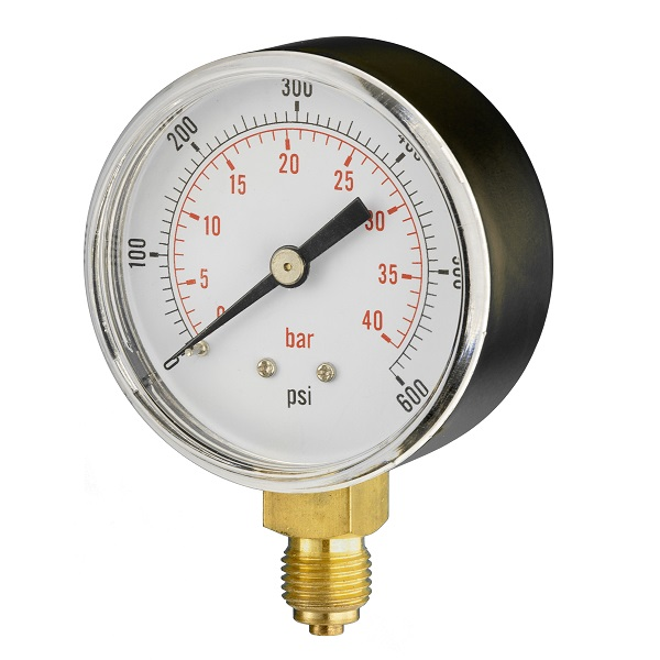 63mm Dry Pressure Gauge (btm Connection)
