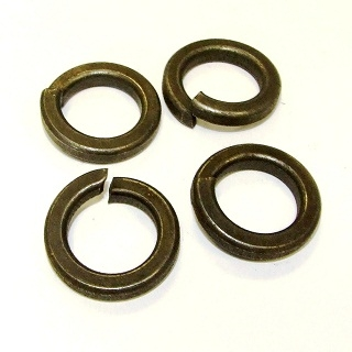 Heavy Spring Washers Self-Coloured
