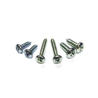 4g Pan Head Pozidriv Self-Tapper Screws Type Ab Point