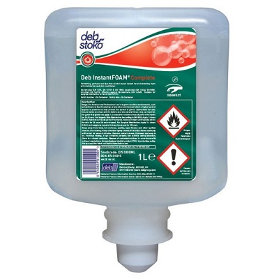 Deb Instant Foam Alcohol Hand Sanitiser Refills, Various Sizes