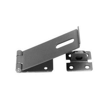 Black Safety Hasp And Staples