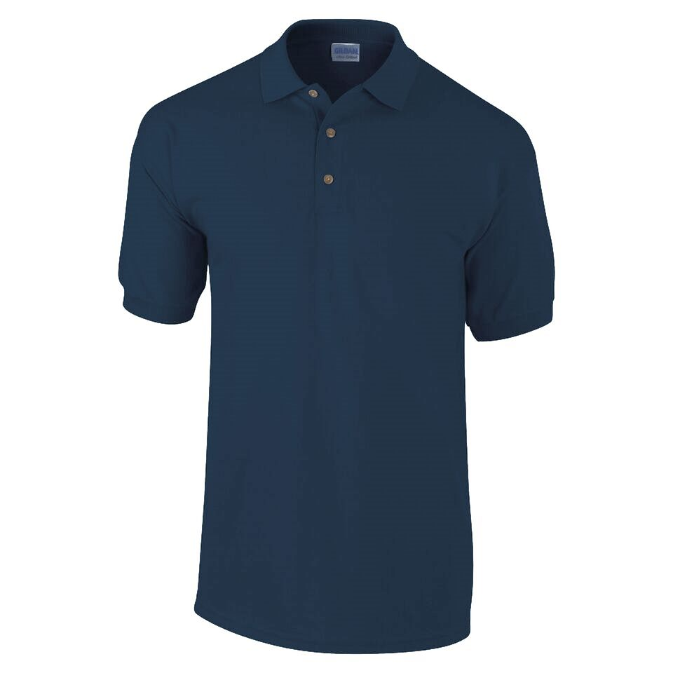 Gildan Navy Ultra Cotton Polo Shirt