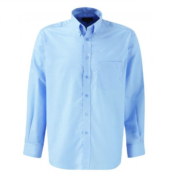 Dickies Oxford Weave Long-Sleeve Shirt SH64200 Light Blue