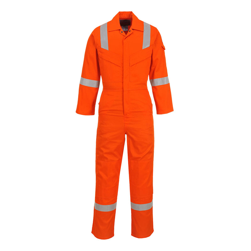 Dickies Lightweight Pyrovatex Coverall, Orange