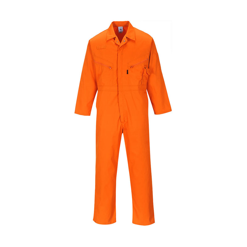 Dickies Orange Zip Front Redhawk Coverall