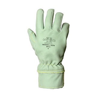 Polyco Granite 5 Beta Leather Glove Cut Resistant