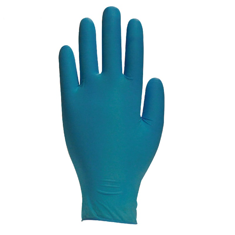Polyco Finite Green Nitrile Gloves Powder-Free Disposable 100 Box