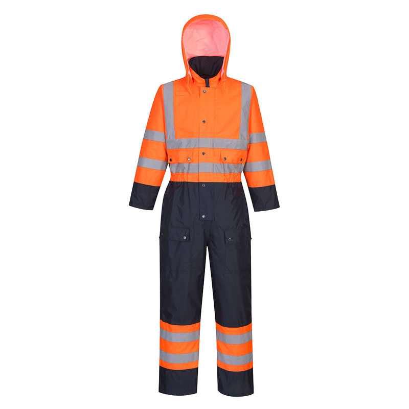 Dickies Hi-Vis Orange Safety Coverall