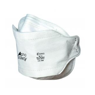 Alpha Solway Folding Dispoable Respirators