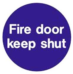 Fire Door - Keep Shut Signage