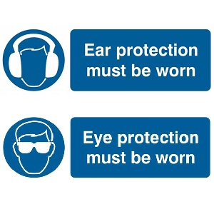 Ear Protection Signage