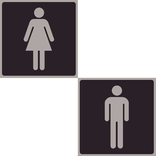 Pictogram Toilet Signage