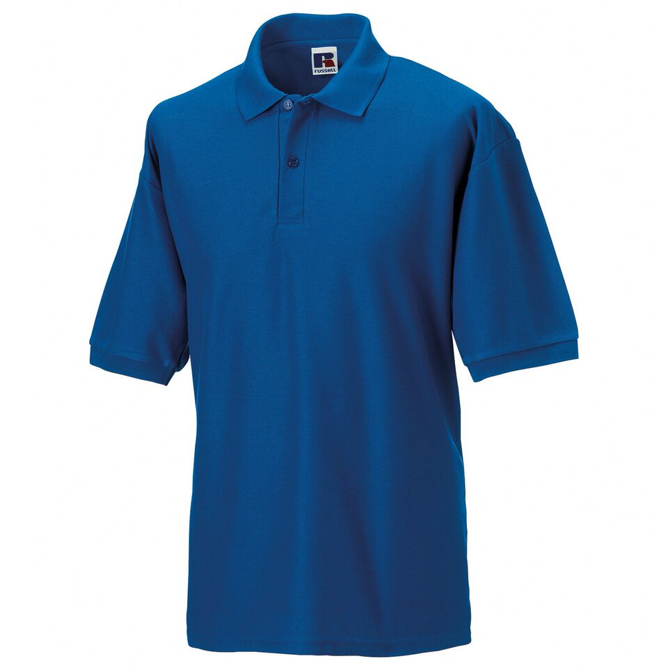 Short Sleeve Polo Shirt - Royal Blue
