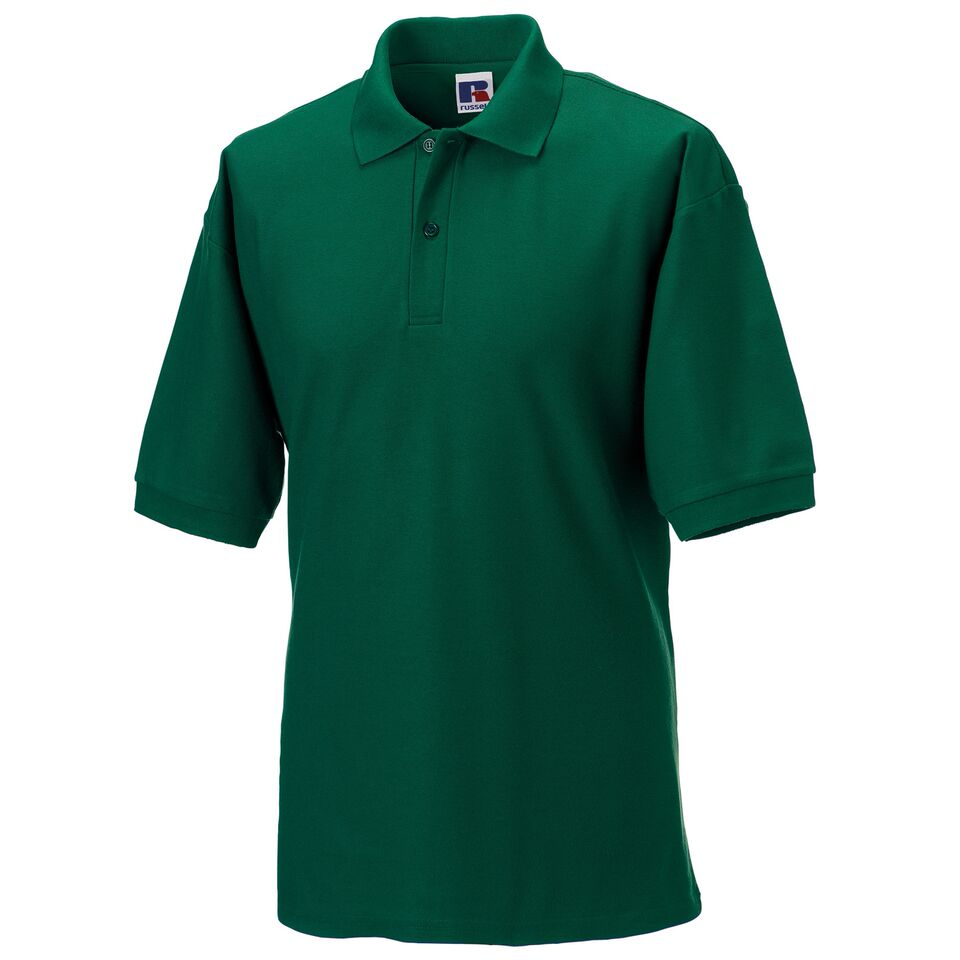 Short Sleeve Polo Shirt - Bottle Green