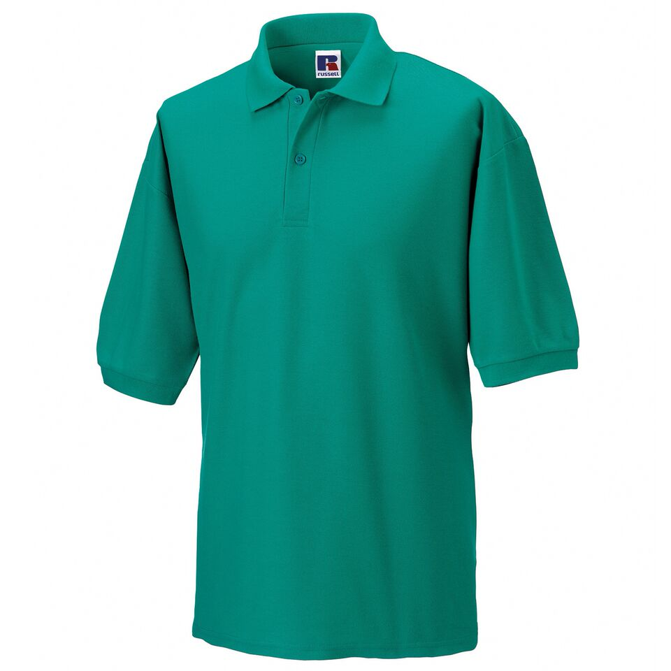 Short Sleeve Polo Shirt - Emerald