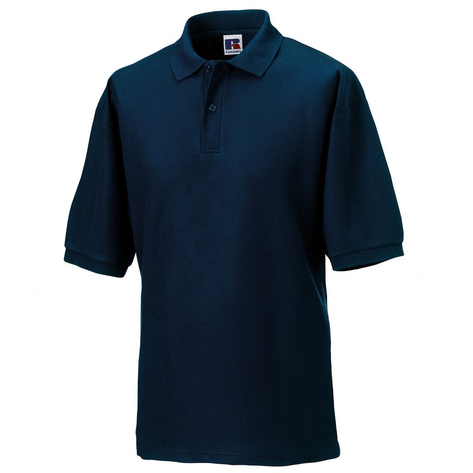 Short Sleeve Polo Shirt - Navy