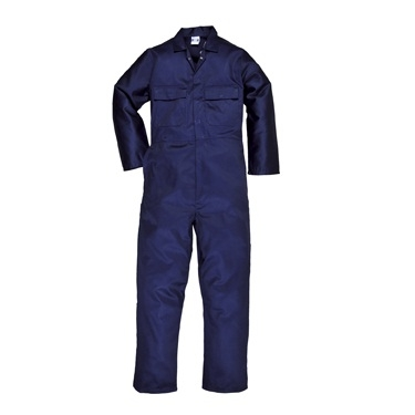"Eurowork Coverall Navy Tall 33""i/l"