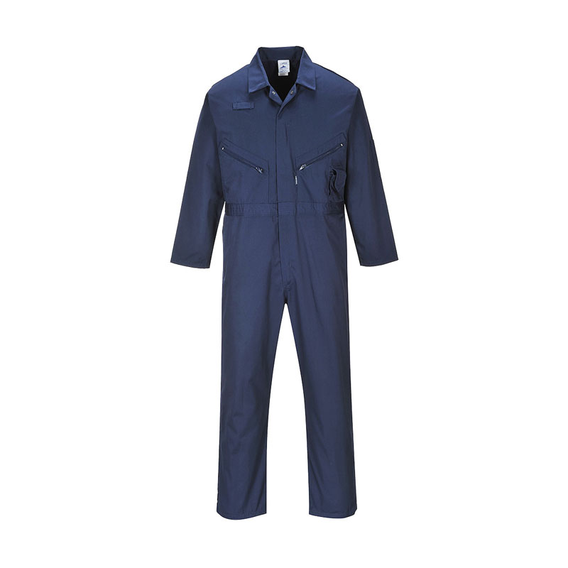 "Liverpool Zip Coverall Navy Reg 31""i/l"