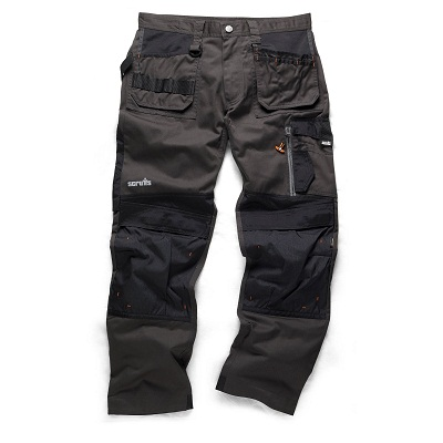 Scruffs 3d Graphite Trade Trousers