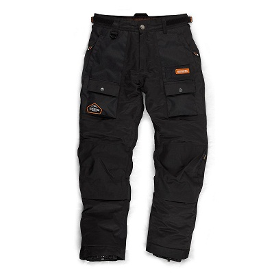 Scruffs Black Expedition Trousers