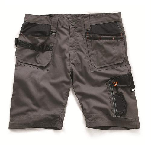 Scruffs 3d Trade Shorts, Slate Grey