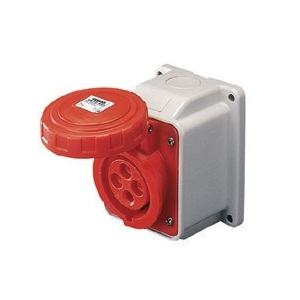 Gewiss Ip67 10 Degree Angle Surface Socket Watertight