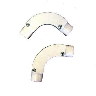 PVC Inspector Bend White