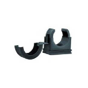 Black Nylon Conduit Clips