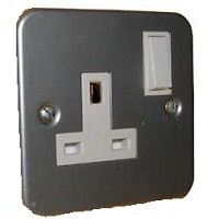Metal Clad Switched Sockets