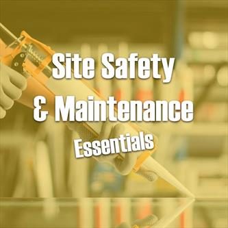 Site Safety and Maintenance Essentials Yellow Thumbnail