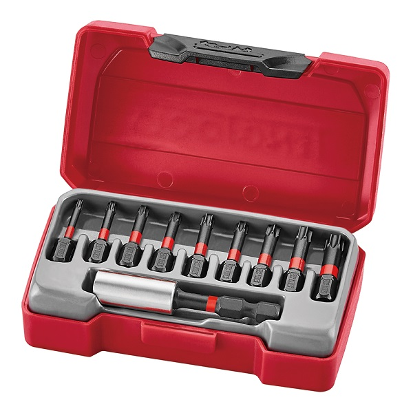 TENG TMTX10 IMPACT BIT SET - 10 PIECES