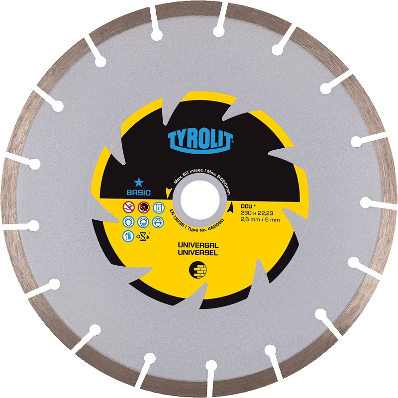 Tyrolit Basic 115mm Diamond Blade,