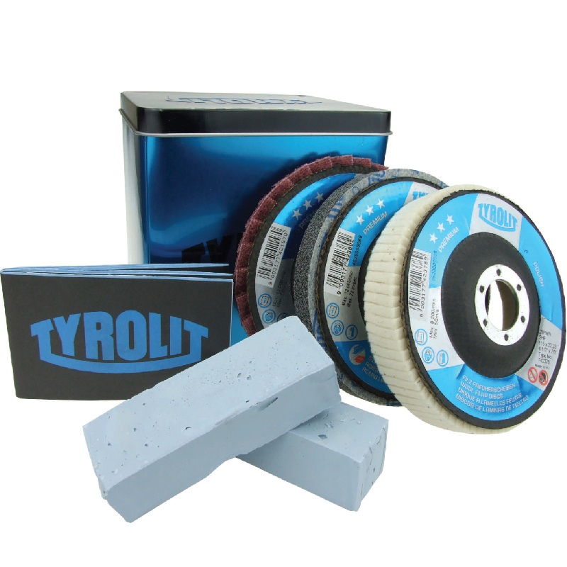Tyrolit 115mm Polishing Set (tin) 21262