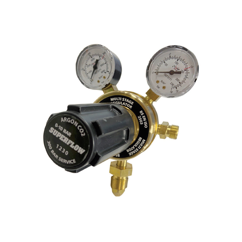 MULTI-STAGE INERT GAS REGULATOR
