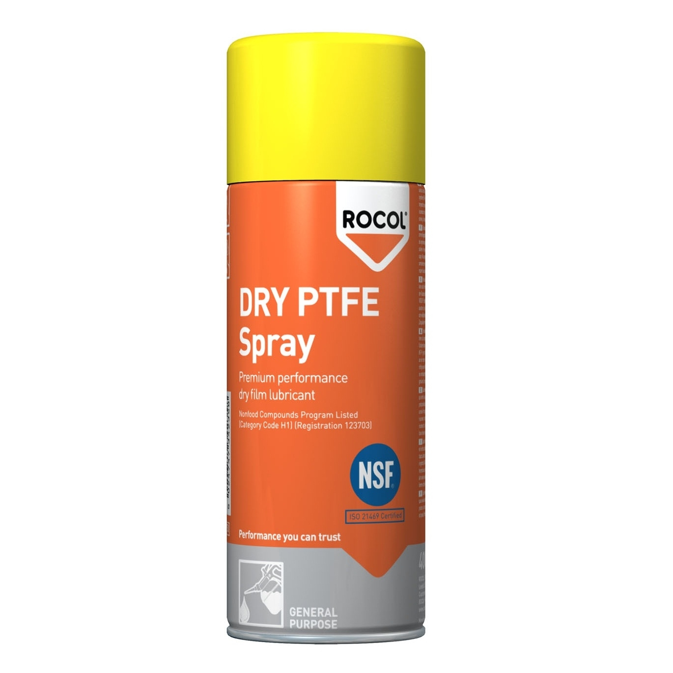 Rocol Dry Ptfe Spray (ifl) 34235 400ml