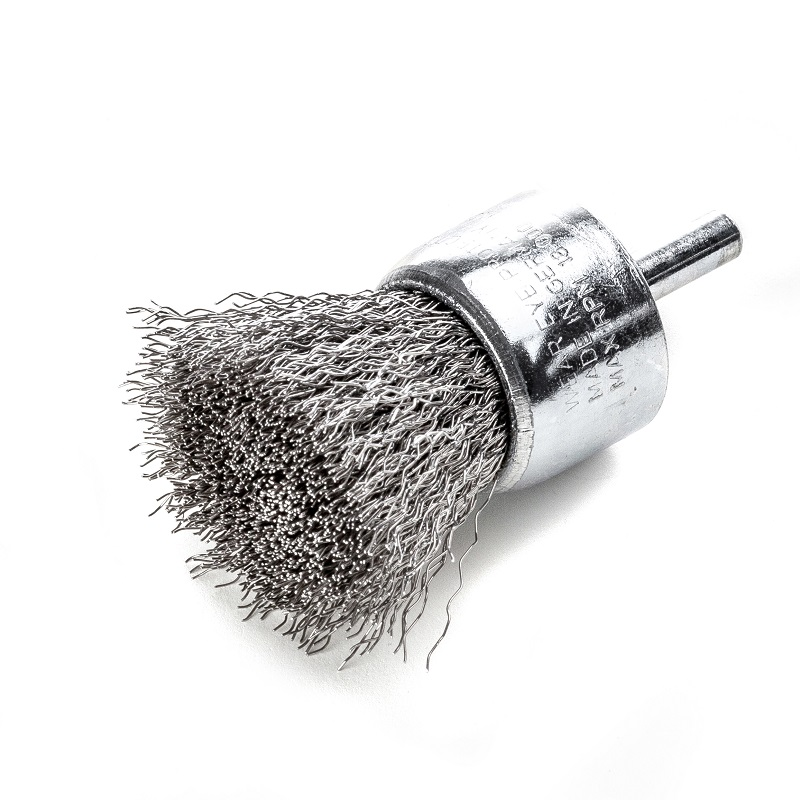 30mm LESSMAN STAINLESS STEEL WIRE END BRUSH