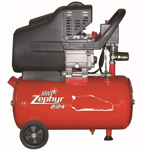 2.0 HP 24LTR LUBRICATED COMPRESSOR ZEPHYR