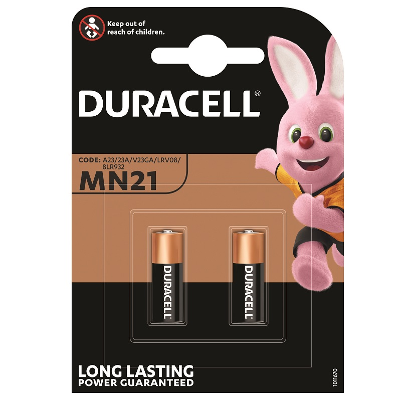 DURACELL GOLD MN21 BATTERY (2 PACK)