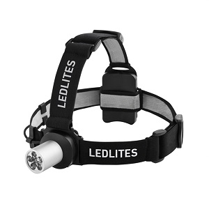 Lenser Led7041tb 6 Led Headlamp Ledlites 80 Lumens 3 X Aaa Batteries