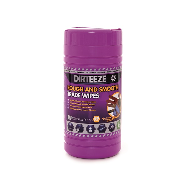 ROUGH AND SMOOTH PURPLE TUB - 80 WIPES