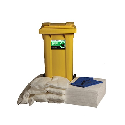 ECOSPILL 120 LITRE OIL ONLY SPILL RESPONSE KIT