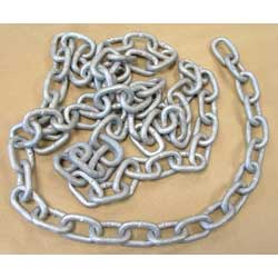 7 X 28 Welded m/s Chain Galv Din5685